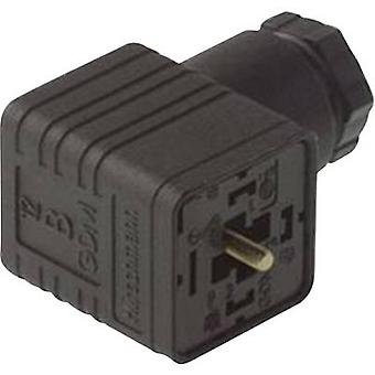 Hirschmann 931 952-100 GDM 3011 Right-angle Connector Black Number of pins:3 + PE