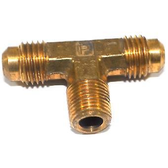 """Grande, um serviço de linha de tubulação de bronze de 3-145420, Flare Tee encaixe 1/4 """"x 1/4"""" x 1/8"""""""