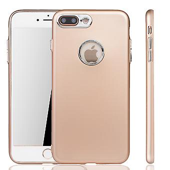 Apple iPhone 7 / 8 plus fall - cell phone case för Apple iPhone 7 / 8 plus - mobil fall i guld