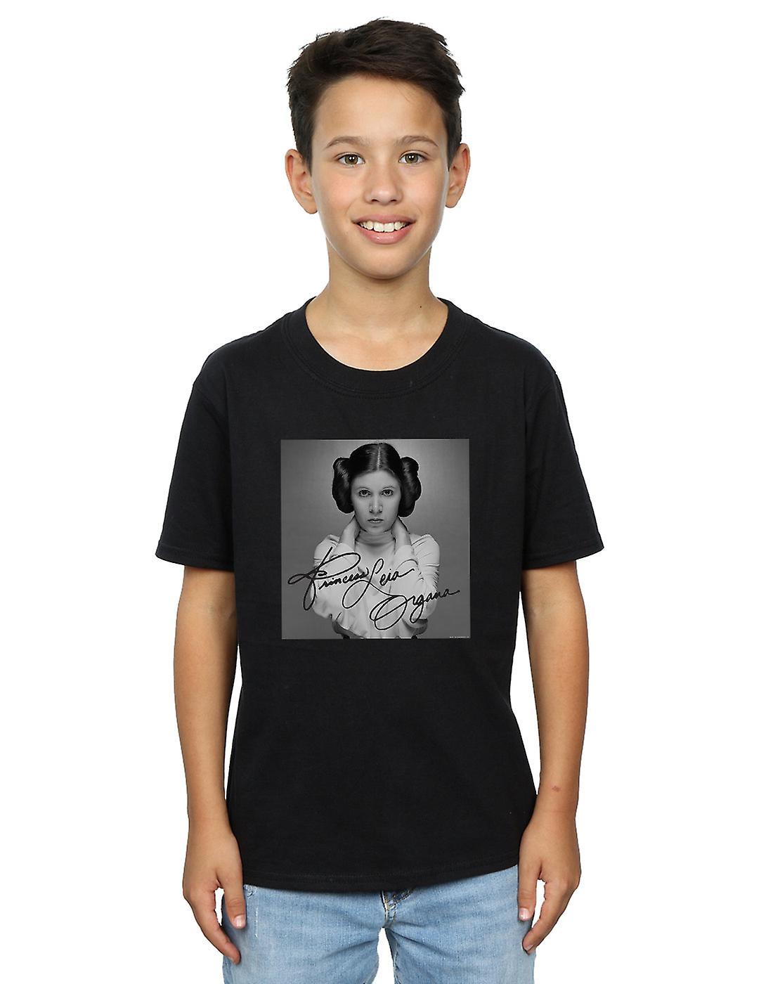 Star Wars Boys Princess Leia Organa T-Shirt