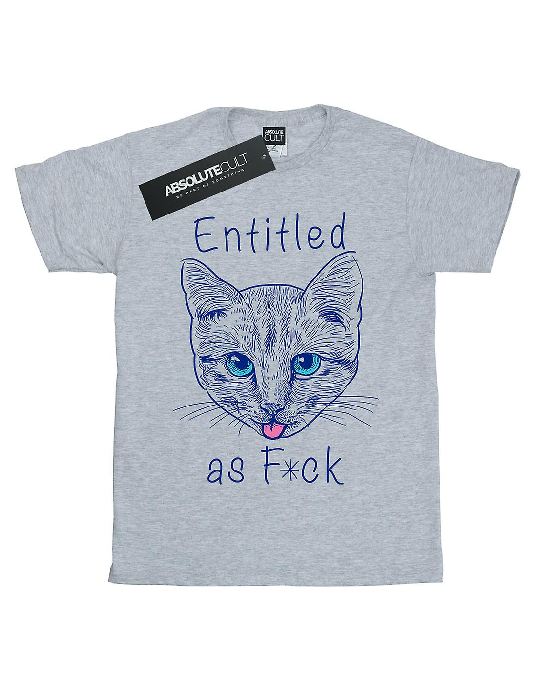 Vincent Trinidad Men's Entitled Cat T-Shirt