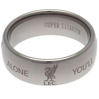 Liverpool FC Medium Super Titanium Ring