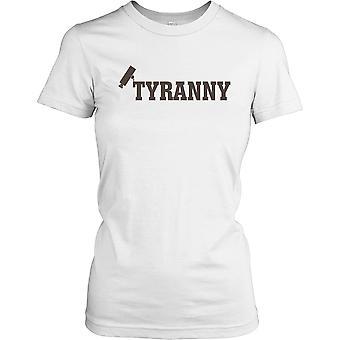 Tiranía de CCTV - conspiración las señoras T Shirt