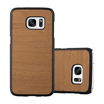 Caso cadorabo para Samsung Galaxy S7 caso capa-Hardcase caso de telefone plástico contra arranhões e colisões-caso protetor pára-choques ultra slim volta caso capa dura