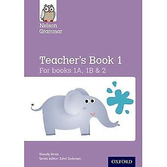 Nya Nelson grammatik lärarens bok KS1