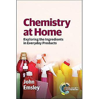 Chemie zu Hause: die Inhaltsstoffe in Produkten des täglichen Lebens zu erkunden