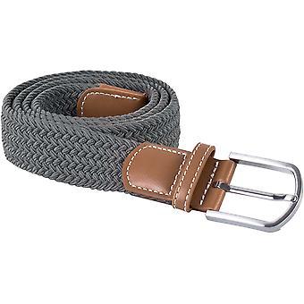 K-UP Adults Unisex Braided Elasticated Belt