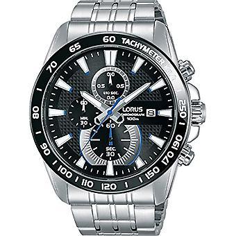 LORUS kwarts mannen horloge met stalen band RM383DX9