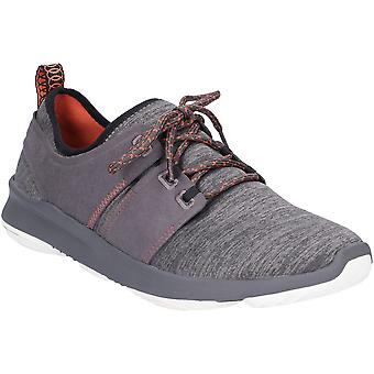 Hush Puppies Mens Geo Lace Up Casual Fashion Trainers
