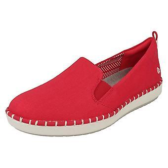 Dames Cloud Steppers door Clarks Loafer stijl schoenen stap gloed Slip