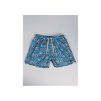 Sseinse patroon zwemmen Shorts