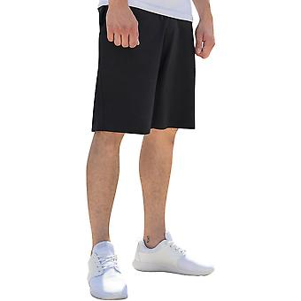 Cotton Addict Mens Casual Cotton Terry Sweatpant Shorts