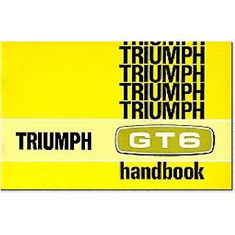 Triumph Owners' Handbook - Gt6 Mk2 & Gt6+ - Part No. 545057 by Brooklan