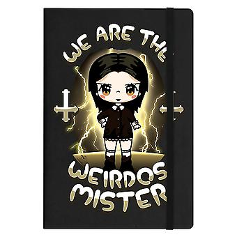 Mio Moon We Are The Weirdos Mister A5 Hard Cover Notebook
