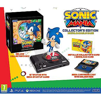 Sonic Mania Collectors Edition PS4 Game (German Case - English/EFIGS In Game)