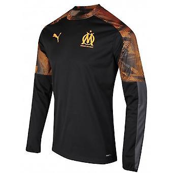 2019-2020 Marseille Rain Top (musta)