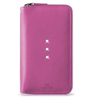 White Diamonds Crystal Purse Case for iPhone 6 / 6s - Pink