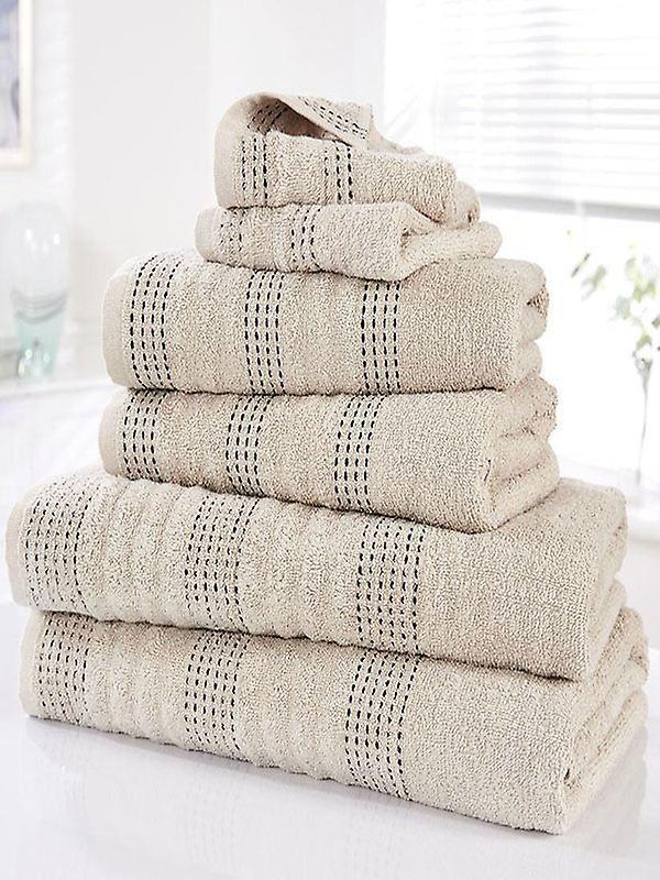 Spa 6 Piece Towel Bale Taupe