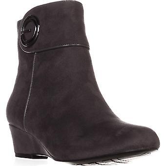Impo Womens Goya Fabric Closed Toe Ankle Fashion Boots