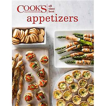 All-Time Best Appetizers by Cook's Illustrated - 9781940352824 Book