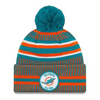 New Era Sideline Bommel Kids Youth Hat Miami Dolphins