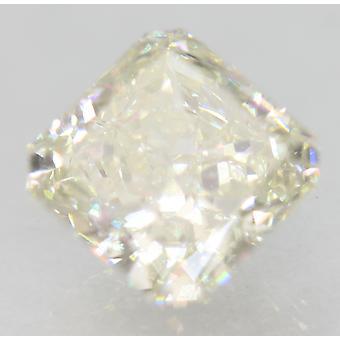Certifierad 1,63 Carat H VS2 Radiant förstärkt Natural Loose Diamond 6.62 x 6.53 m 2EX