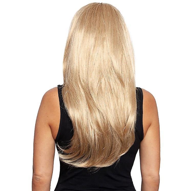 Perruque de demi-vie normale (3/4 perruque) avec hairband plaited - Long Wave