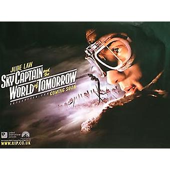 Sky Captain And The World Of Tomorrow (Advance Jude) Original Cinema Poster