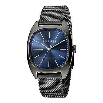 Esprit ES1G038M0095 Infinity Azul Negro Malla Reloj de Hombre
