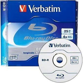 Custodia gioiello Verbatim (96434) BDR 25GB 4X