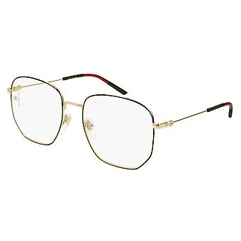Gucci GG0396O 001 Lunettes Noir-Or