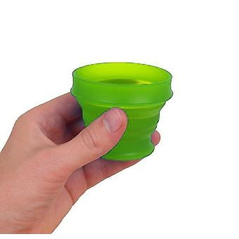 Lewis N. Clark GoCup Collapsing Travel Cup, Large, Green #HG0321