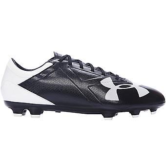 Under Armour Mens Spotlight DL Firm Ground Football Soccer Boots - Black