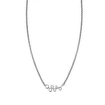 Esprit Damen Kette Collier Silber Zirkonia Frosty Crystals ESNL93337A420