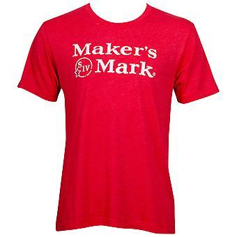 Maker-apos;s Mark Men-apos;s Red Eco Friendly T-Shirt