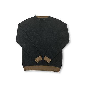 assio Rebecchi knitwear in graphite grey