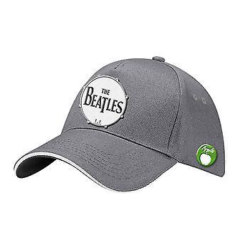 The Beatles Baseball Cap Classic rumpu bändi logo uusi virallinen harmaa Strapback
