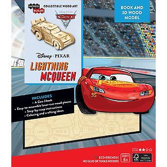IncrediBuilds Disney Pixar Cars 3 Lightning McQueen 3D Woo