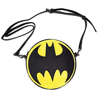 Batman Chenille Crossbody Purse