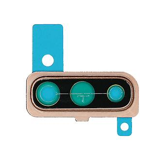 Genuine Samsung Galaxy A50 - SM-A505 - Camera Lens Holder - Coral - GH98-44064D