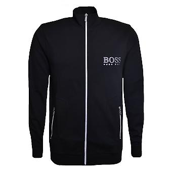 Hugo Boss Leisure Wear Hugo Boss Men's Black Zip Through Sweatshirt