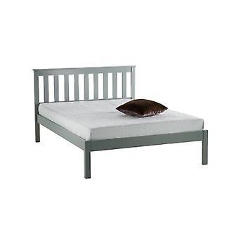 90CM DENVER LOW END BED GREY