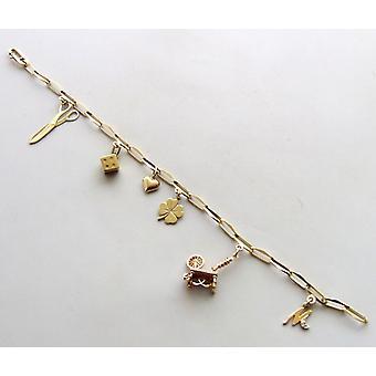 14 carat closed forever bracelet