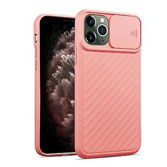 iPhone 11 Pro Hoesje Roze met Camshield