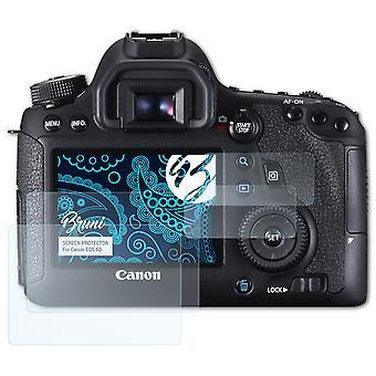 Bruni 2x näytönsuoja yhteensopiva Canon EOS 6D suojakalvo
