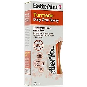 BetterYou Turmeric Oral Spray 25 ml