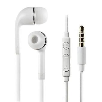 Stuff Certified® Ears Earphones for Samsung Galaxy écouteur White - Clear Sound