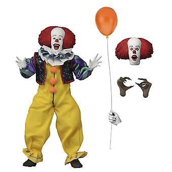 NECA IT Pennywise 1990 8-quot; Clothed Action Figure