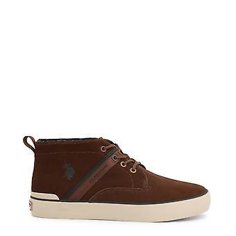 . ארה ב פולו אסאן גברים מקוריים סתיו/נעלי חורף-צבע חום 37553