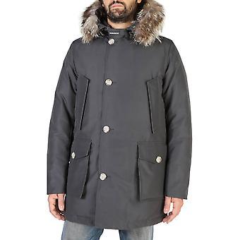 Woolrich Original Men Fall/Winter Jacket - Grey Color 38139